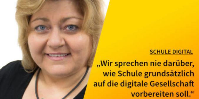"""5 Fragen – 5 Antworten """"Schule_digital"""" mit Myrle Dziak-Mahler"""