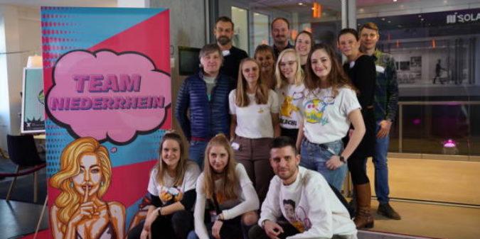 Hochschule Niederrhein kann Markenkommunikation: Studierende beim GWA Junior Agency Award erfolgreich