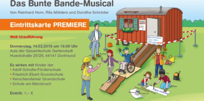 Das neue Bunte Bande-Musical: Gemeinsam sind wir stark!