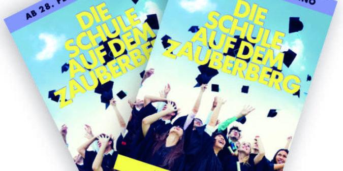 Gewinne zwei Kinofreikarten für DIE SCHULE AUF DEM ZAUBERBERG!