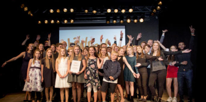 #Mach 'was draus!   Förderprogramm für junges Engagement