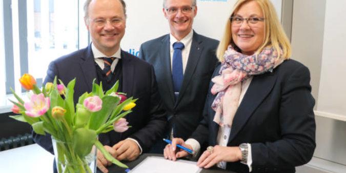 Hochschule Niederrhein kooperiert mit dem Michael-Ende-Gymnasium