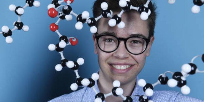 Jugend forscht Bundessieger Moritz Hamberger präsentiert innovativen Bioreaktor auf der Hannover Messe 2019