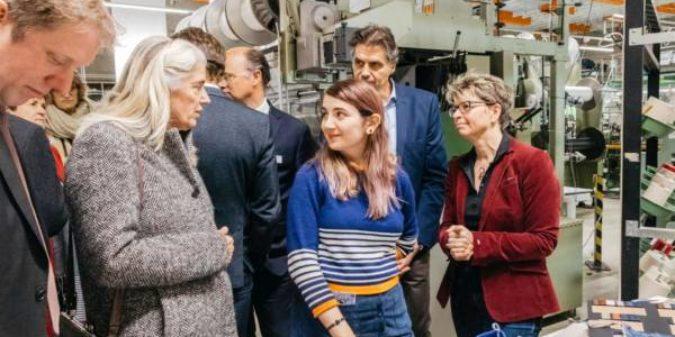 Ministerin für Kultur und Wissenschaft zu Gast auf der MG zieht an