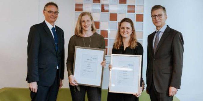 Förderverein zeichnet beste Absolventinnen am Fachbereich Wirtschaftswissenschaften aus