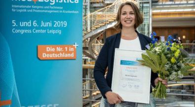 Master-Absolventin gewinnt Nachwuchspreis für Krankenhauslogistik