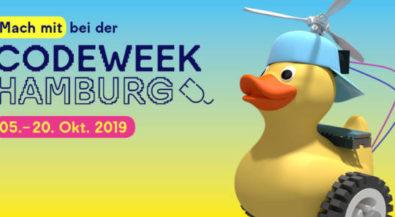 Tüfteln, Hacken, Programmieren: Hamburg wird wieder zur Code Week-Hauptstadt