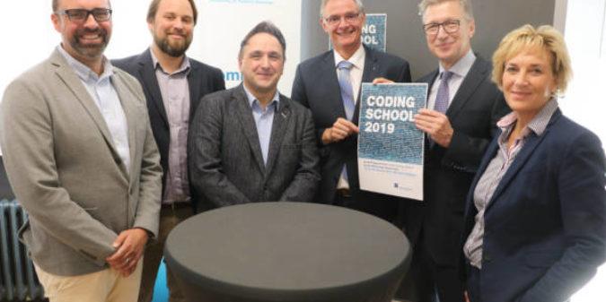 Coding School der Hochschule Niederrhein jetzt in Mönchengladbach