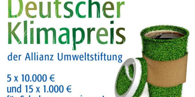 Deutscher Klimapreis der Allianz Umweltstiftung