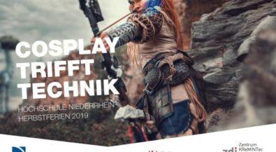 Cosplay tritt Technik: Neuer Ferien-Workshop an der Hochschule Niederrhein