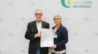 Hochschule Niederrhein verstärkt Engagement als familienfreundliche Hochschule