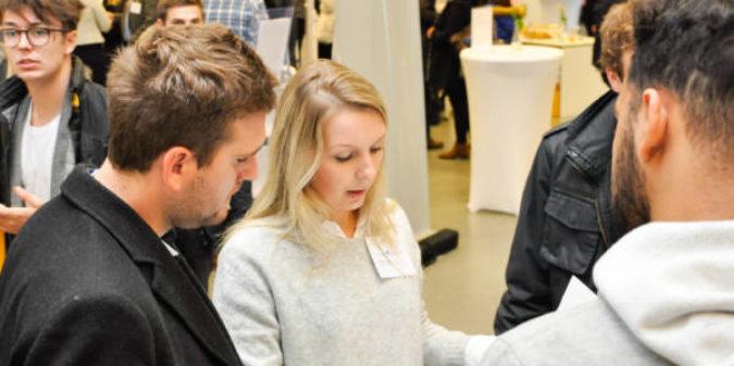 Lunch & Connect bringt Studierende mit Unternehmen zusammen