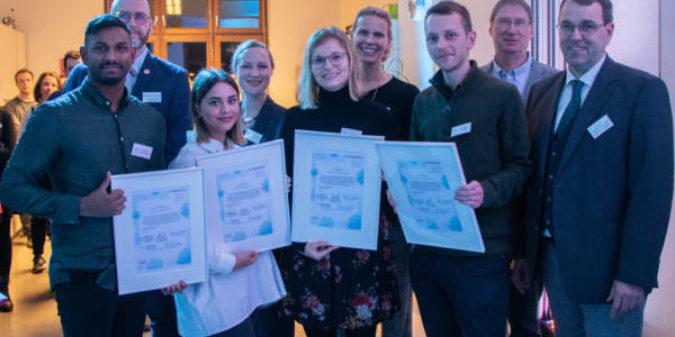 Studierende der Hochschule Niederrhein erhalten Preise für ehrenamtliches Engagement