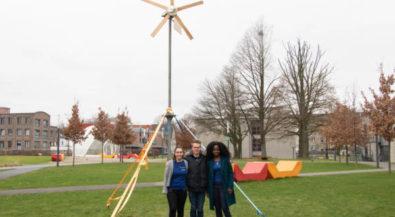 Tag des Ingenieurs: Studierende bauten Klein-Windkraftanlage