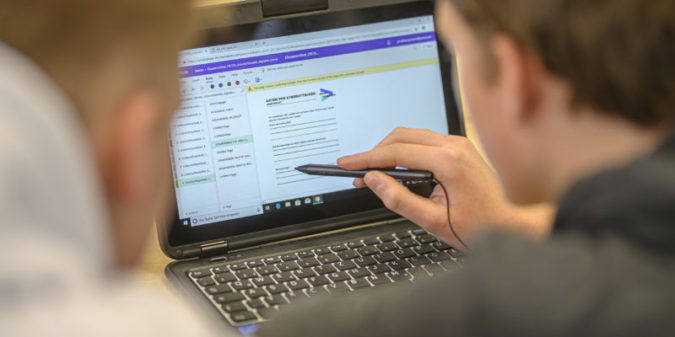 Lernen aus Corona: TalentMetropole Ruhr öffnet das Digitale Klassenzimmer