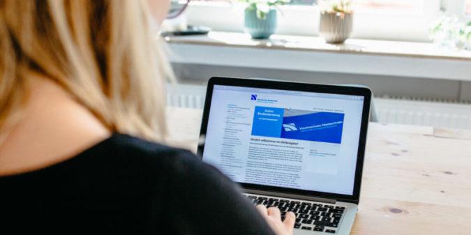 Hochschule Niederrhein: virtuelle Studienberatung mit dem HN-Navigator