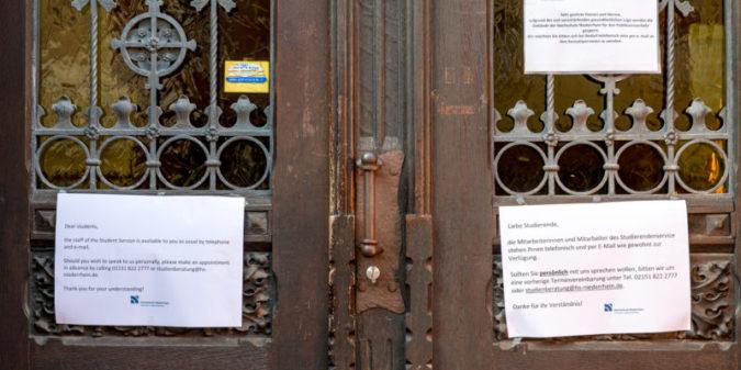 Hochschule Niederrhein startet Sommersemester ausschließlich digital